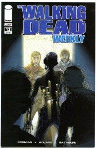 WALKING DEAD WEEKLY #13, NM, Zombies, Horror, Robert Kirkman, 2011, Brains,Flesh
