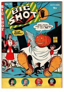 Big Shot #82-1947-Columbia-Jack O' Lantern-Halloween-Skyman-Ohio Pedigree
