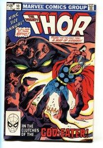 THOR ANNUAL #10-1982 Marvel Comic Book-GOD-EATER NM-