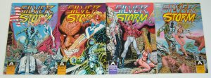Silver Storm #1-4 VF/NM complete series - aircel comics - steven butler set lot