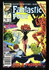 Fantastic Four #286 NM+ 9.6 Newsstand Variant Return of Jean Grey!