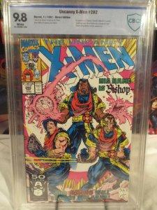 Uncanny X-Men #282 - CBCS 9.8 - NM/MINT White Pages - 1st Appearance of Bishop