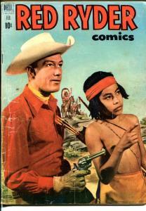 Red Ryder #103 1953-Dell-Little Beaver-Fred Harmon art-Jim Bannon-VG