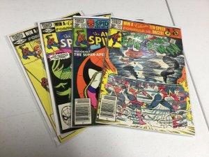 Amazing Spider-Man 222 223 224 225 Vf-Nm Very Fine-Near Mint Marvel Comics