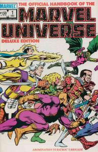 Official Handbook of the Marvel Universe (Vol. 2) #1 VF/NM; Marvel   save on shi
