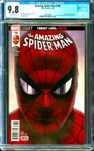 Amazing Spider-Man #796 CGC Graded 9.8 Anti-Venom, Goblin King, Boomerang & N...
