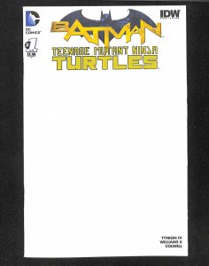 Batman: Teenage Mutant Ninja Turtles #1