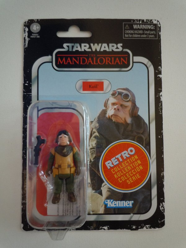 Star Wars The Retro Collection Kuiil 3.75-inch Scale Action Figure
