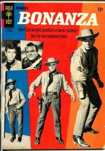 Bonanza #17 1965-Gold Key-TV series-Dan Blocker-Lorne Green-Michael Landon-VG
