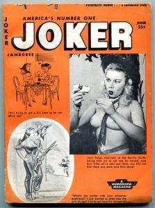 Joker Magazine June 1954- Cheesecake-Wolverton- Ward- Wenzel- Humorama VG-