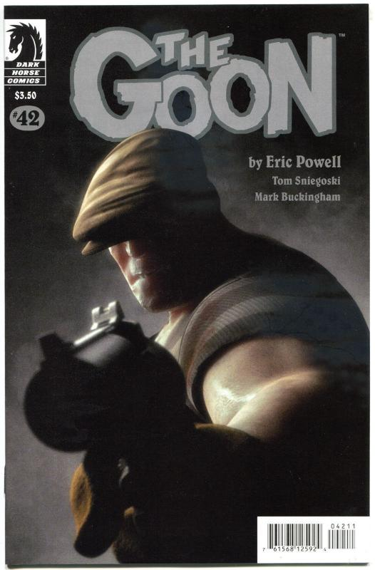 GOON #42, NM, Zombies, Tough Guy, Eric Powell, 2003, more Goon in store
