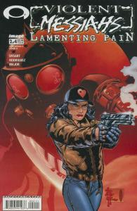 Violent Messiahs: Lamenting Pain #2A VF/NM; Image | save on shipping - details i