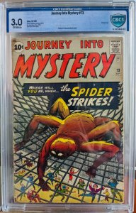 Journey into Mystery #73. CBCS 3.0. 1961 - VINTAGE AND EXTREMELY RARE.