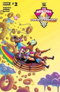 WWE: NEW DAY: POWER OF POSITIVITY #2 CVR A BAYLISS - BOOM! STUDIOS - AUGUST 2021