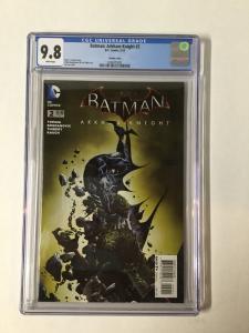 Batman Arkham Knight 2 Cgc 9.8 Jae Lee Variant