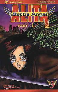 Battle Angel Alita Part 6 #3 VF/NM; Viz | save on shipping - details inside