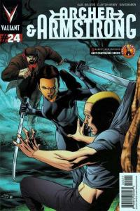 Archer & Armstrong (2012 series) #24, NM (Stock photo)