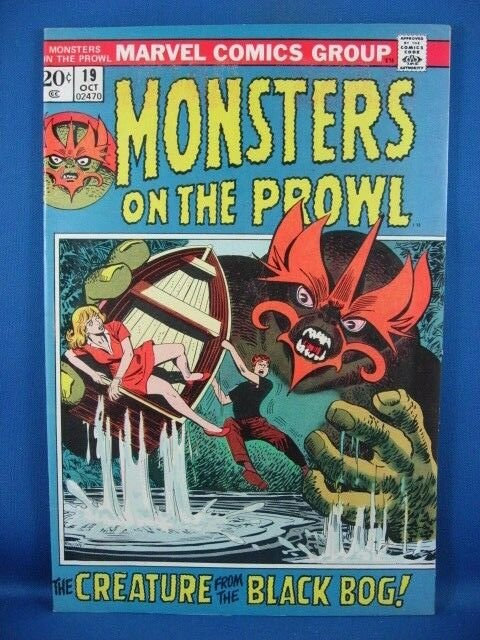 Monsters on the Prowl #19 (Oct 1972, Marvel) VF