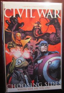 Civil War Choosing Sides (2006) #0A, VF