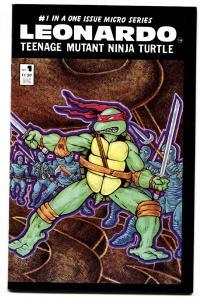 Leonardo #1-TEENAGE MUTANT NINJA TURTLES-1986-comic book