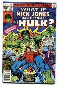 What If #12 comic book - What if RICK JONES had become the HULK?