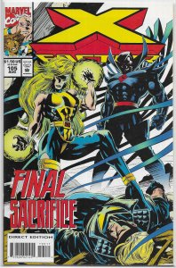 X-Factor   vol. 1   #105 VF DeMatteis/DeZago/Hitch, Mister Sinister