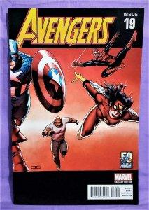 Infinity Tie-In AVENGERS #19 John Cassaday 2000's Variant Cover (Marvel, 2013)!