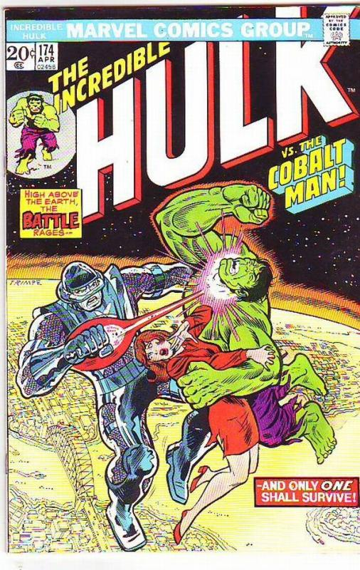 Incredible Hulk #174 (Jun-74) VF+ High-Grade Hulk