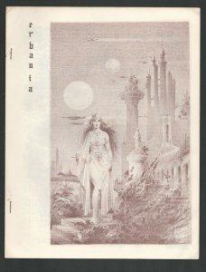 Erbania #13 1963-Edgar Rice Burroughs & Tarzan Fanzine-Cover by Roy Krenkel-F...