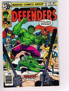 Defenders # 70 VF Dr Strange Marvel Comic Book Canning PEDIGREE Collection D16