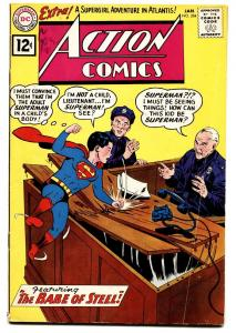 ACTION COMICS #284 comic book DC SUPERMAN 1962 SUPERBOY COVER VG/FN