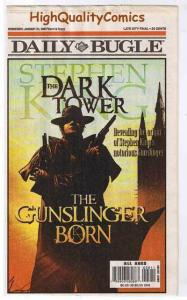 STEPHEN KING : DARK TOWER DAILY BUGLE, Jan 2007 Ed. NM-, more SK in our store