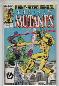 NEW MUTANTS ANNUAL (1984 MARVEL) #3 VG+ A30122