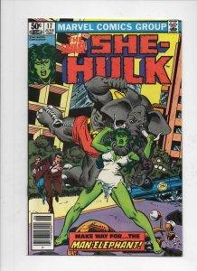 SHE-HULK #17, VF/NM, Man-Elephant, 1980 1981, more Marvel  in store
