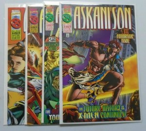 Askani'son comic set from:#1-4 all 4 different 8.0 VF (1996)
