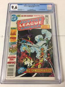 Justice League Of America 193 Cgc 9.6 White Pages