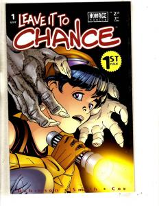 Lot Of 5 Leave It To Chance Image Homage Comic Books # 1 3 4 5 6 TD8
