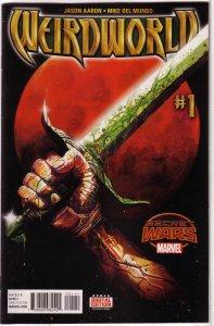 Weirdworld   vol.1 #1,2,5 vol. 2 #1-4 (set of 7)