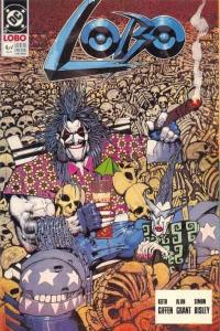 Lobo (1990 series) #4, VF (Stock photo)