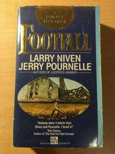 3 Books Football The Ringworld Engineers Covergent Series Larry Niven Novel MFT2