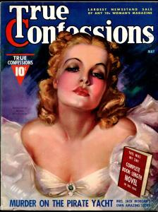 True Confessions 5/1938-Fawcett-Zoe Mozert honey haired blonde cover-pulp-VF