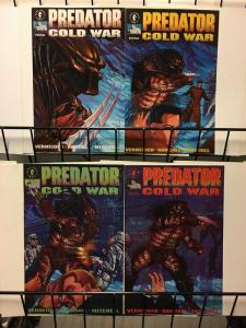 PREDATOR COLD WAR (1991) 1-4 SIBERIAN ACTION!THE SET!