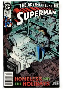 Adventures of Superman #462 1990- Christmas issue-comic book DC