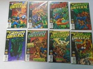 Marvel Universe set #1-7 + Variant avg 8.5 VF+ (1998)