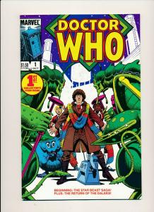 Marvel DOCTOR WHO #1 1st Collector's Item Issue VF/NM (PF810)