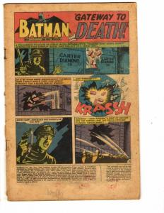 Batman # 202 PR DC Comic Book Joker Robin Catwoman Gotham Batgirl Riddler J149