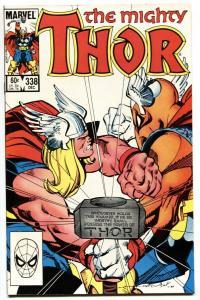THOR #338-comic book BETA RAY BILL-MARVEL  NM-