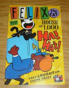 Felix the Cat: House of 1,000 Ha! Ha's! #1 VF/NM dan parent - don oriolo - rare