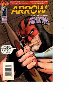 Lot Of 2 Malubu Comic Books Arrow #1 and Ultraverse Exiles #1   ON3