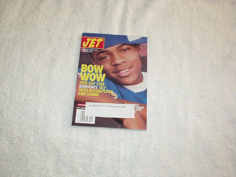 Jet Magazine 2003 BOW WOW, Gregory Hines Dies, Centerfold, Sports, Reports +